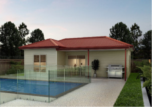 The Bayswater | Superior Sheds